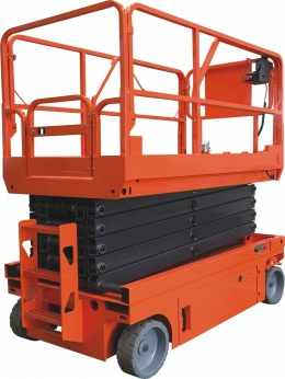 全电动剪叉式高空作业平台安全使用规范