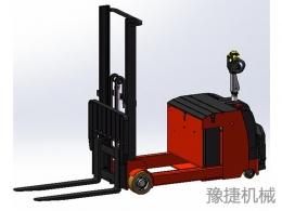 全电动平衡重无叉腿堆高车EFD20B